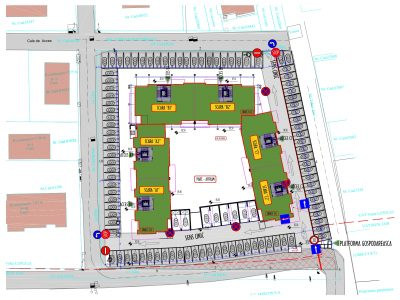 Plan de situatie Sedes Apartamente Pacurari